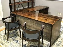desk used wood executive desk for custom executive office l shaped desk from dark