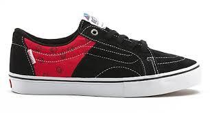 spitfire shoes. vans shoes av native american low - spitfire/black/flame red spitfire