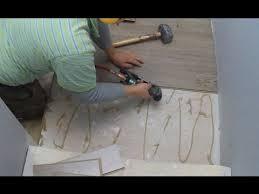How To Installing Laminate Flooring On Stair Landing Tips  Mryoucandoityourself