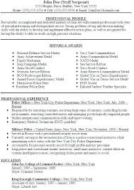 Military Resume Examples From Police Resume Examples Beautiful