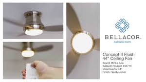 concept ceiling fan really bad minka aire concept ii