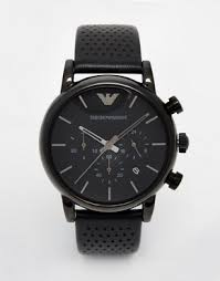 men s watches digital designer watches asos emporio armani watch luigi ar1737