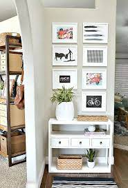 10 ways to fake an entryway entryway