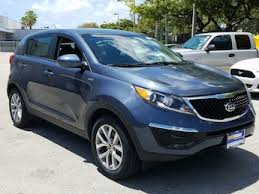 kia sportage 2016 blue. Simple Blue Blue 2016 Kia Sportage LX For Sale In Ft Lauderdale FL Intended A
