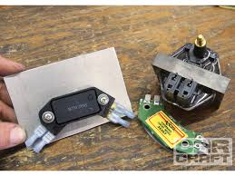 how to convert a ford or chrysler ignition to gm hei car craft we mounted our hei module to a 3frasl16 inch thick aluminum plate