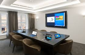 Micrsoft Table Crestron To Deliver The Ultimate Microsoft Surface Hub