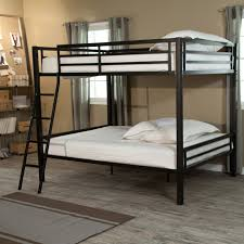 Queen Over Queen Bunk Bed With Trundle | Digihome