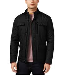 alfani mens full zip er jacket 0