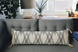 long lumbar pillow. Plain Lumbar DIY Faux Copper Air Planter To Long Lumbar Pillow O