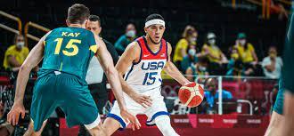 U.S. Men Versus Australia