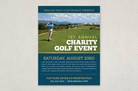 cleaning service advisement flyers charity golf event flyer template the organized clean layout is