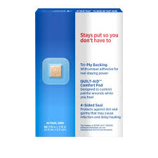 Band Aid Size Chart Tru Stay Clear Spot Bandages 50 Ct Band Aid Brand
