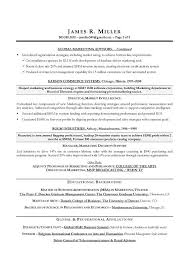Marketing Director Sample Resume Cmo Marketing Sample Resume
