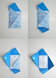 Wedding Invitation Folding Wedding Invitation With Envelope Fold Wedding Invitation Envelopes