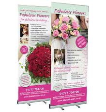 banners, printed banners, banner signs, wall mounted banner poles Wedding Fairs Retford roll up banners for wedding fayre, exhibition, trade stall etc designed and printed wedding fayre retford