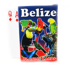 belize images playing card