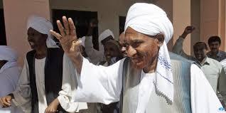 حكيم السودان وزعيم الديمقراطيه الامام الصادق المهدي يميط اللثام ويحدد معالم الهبوط الامن لسودان المستقبل