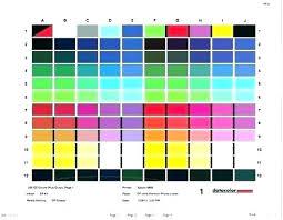 Color Printer Test Page Pdf Color Test Page Hp Printer Test Page