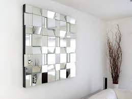 contemporary new century decorative wall mirrors with inside out cut design