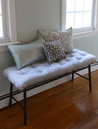 ikea hack incredibly easy upholstered bench by faith towers