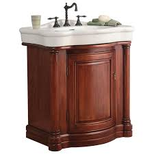 bathroom vanities albany ny. 30 To 35 In. Width Bathroom Vanities | HomeClick Foremost WIA3021 Wingate Vanity In Rich Cherry With Vitreous China Top - Included Albany Ny