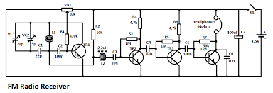 fm radio receiver circuit fm radio receiver circuit diagram