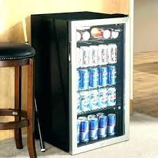 fancy beverage refrigerator
