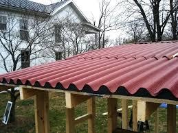 installing corrugated