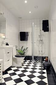 white bathroom decor. Black And White Checkered Flooring Is A Perfect Way To Add Creative Touch Bathroom Decor R