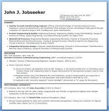 Manufacturing Engineer Resume Examples Manufacturing Engineer Resume Sample Manufacturing Engineer Resume