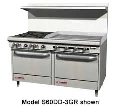 stove with griddle. stove with griddle