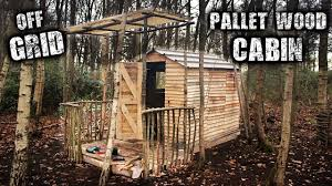 Pallet Cabin Designs Building An Off Grid Cabin Using Free Pallet Wood Steemkr