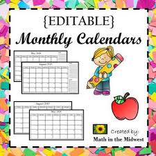 Editable 2020 Monthly Calendar Editable Monthly Calendars 2019 2020 Lifetime Updates
