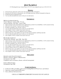 Resume Template On Word Standard resume template word best of resume examples templates 86