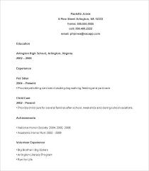 The Best Resume Builder High School Resume Templates Free Samples Gorgeous Resume Builder Reddit