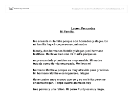 how to write papers about spanish essay mi familia mi familia is a heartwarming story spanning three generations of a mexican family living in america
