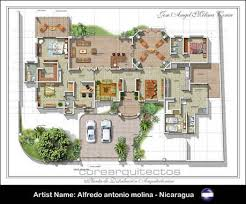 home floor plans color. colored floor plan image made by artist from nicaragua home plans color