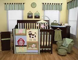 farm animal baby bedding fresh trend lab baby barnyard 3 piece crib bedding set