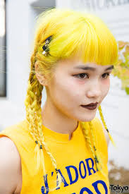 Plaiting Hair Style yellow braided hair in harajuku hair style pinterest braid 3005 by wearticles.com