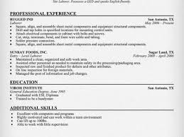 41 Construction Worker Resume Template, Construction Worker Resume ...