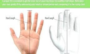 Golf Glove Hand Size Chart What Size Golf Glove Inchrist Co