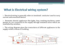 electrical wiring system Basic Electrical Wiring Diagrams building services iv electrical wiring system submitted by antima pathak ekta bhardwaj shweta saini; 2