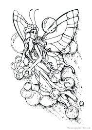 Fee Kleurplaat Big Girls Color Too Fairy Coloring Pages Fairy