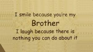 Brotherly Love Quotes Extraordinary 48 Brother Quotes Sibling Quotes For Your Cute Brother Fresh