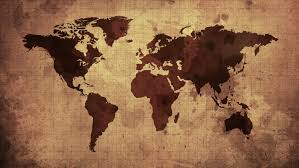 Map Of The World Background Vintage Map Of The World Stock Footage Video 100 Royalty Free