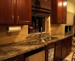 kitchen backsplash ideas home remarkable design for dark cabinets quartz countertops