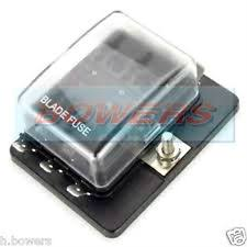 car fuses fuse boxes 12v 24v 6 way blade fuse box holder bus bar led failure warning lights