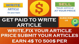 how to sell your article and earn a day online writing  how to sell your article and earn 100 a day online writing job that pays