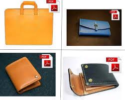leather patterns leather bag wallets kit patterns