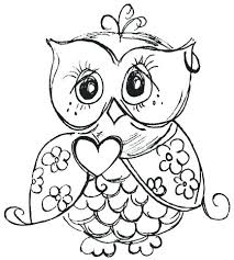 Good Owl Coloring Pages Pdf And Owl Coloring Pages 38 Owl Coloring